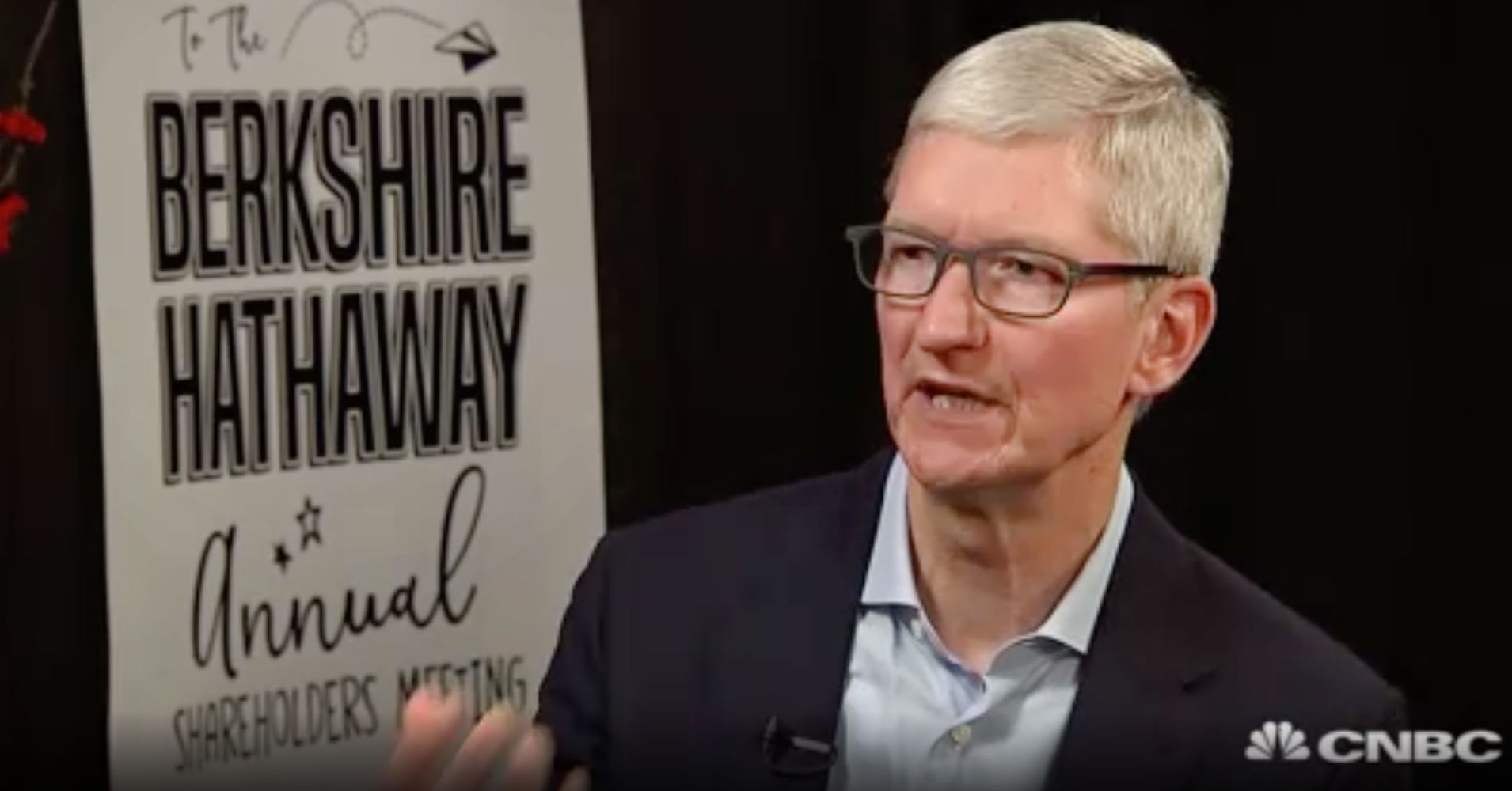Apple CEO Tim Cook interview from Berkshire Hathaway meeting