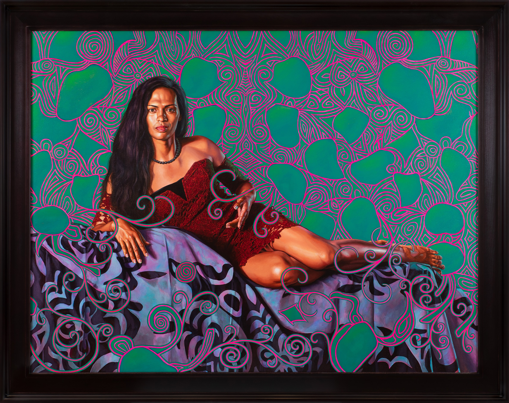 Detailed Portraits of Tahiti's Third Gender by Kehinde Wiley Challenge Gauguin's Problematic Depictions