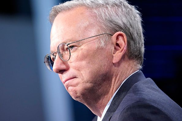 Former Google CEO Eric Schmidt advocated for a search engine in China