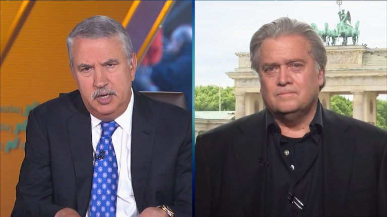 Steve Bannon and Tom Friedman agree Trump right to hit China on trade