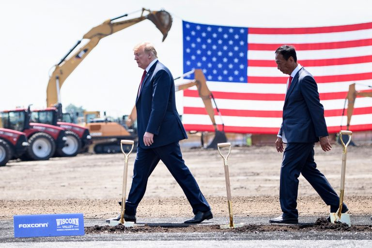 White House says Foxconn will invest further in Wisconsin
