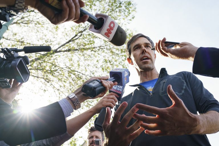 Beto O'Rourke Facebook ad spending lags other 2020 Democrats