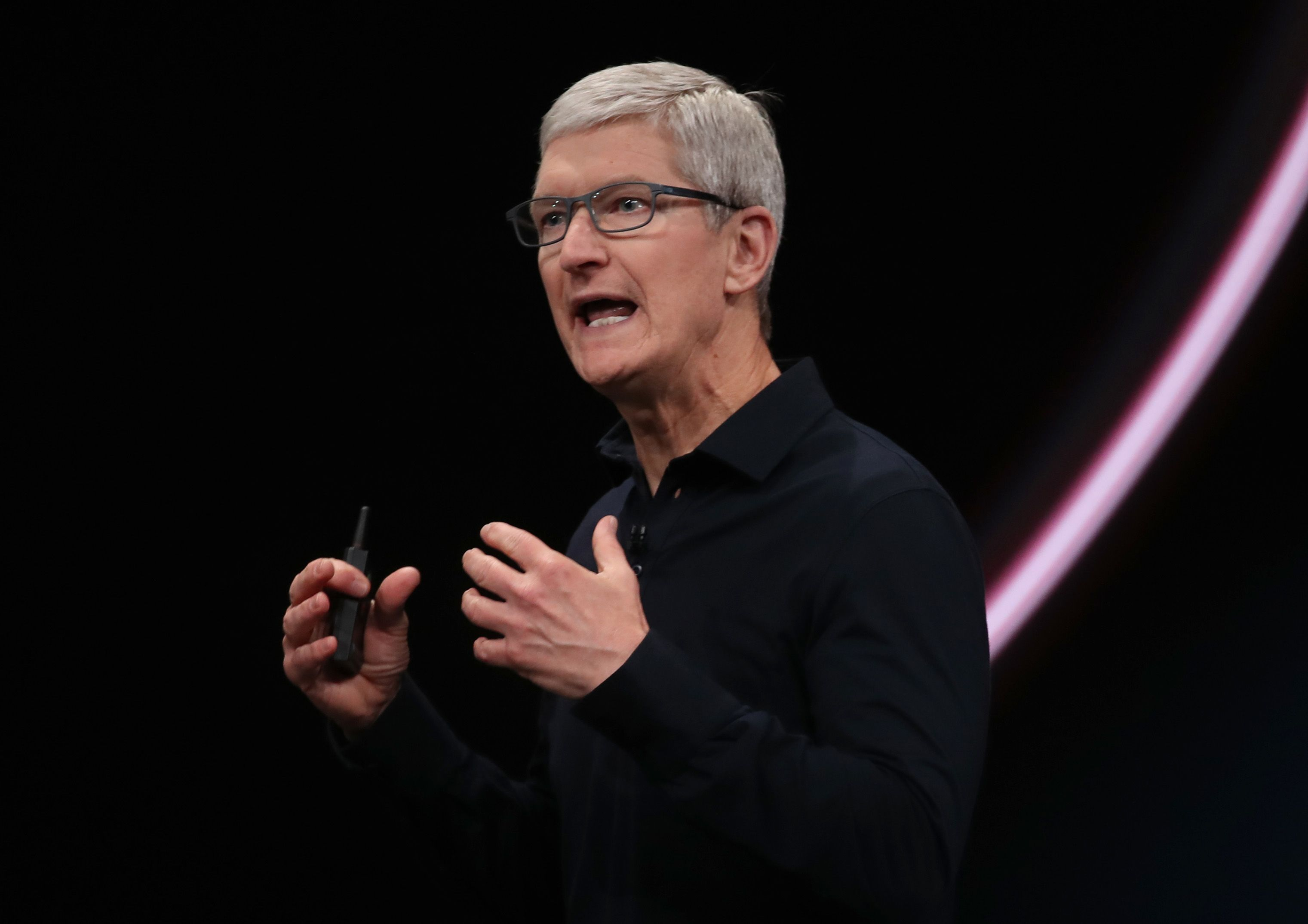 Cook says Apple is not a monopoly as government begins antitrust probe