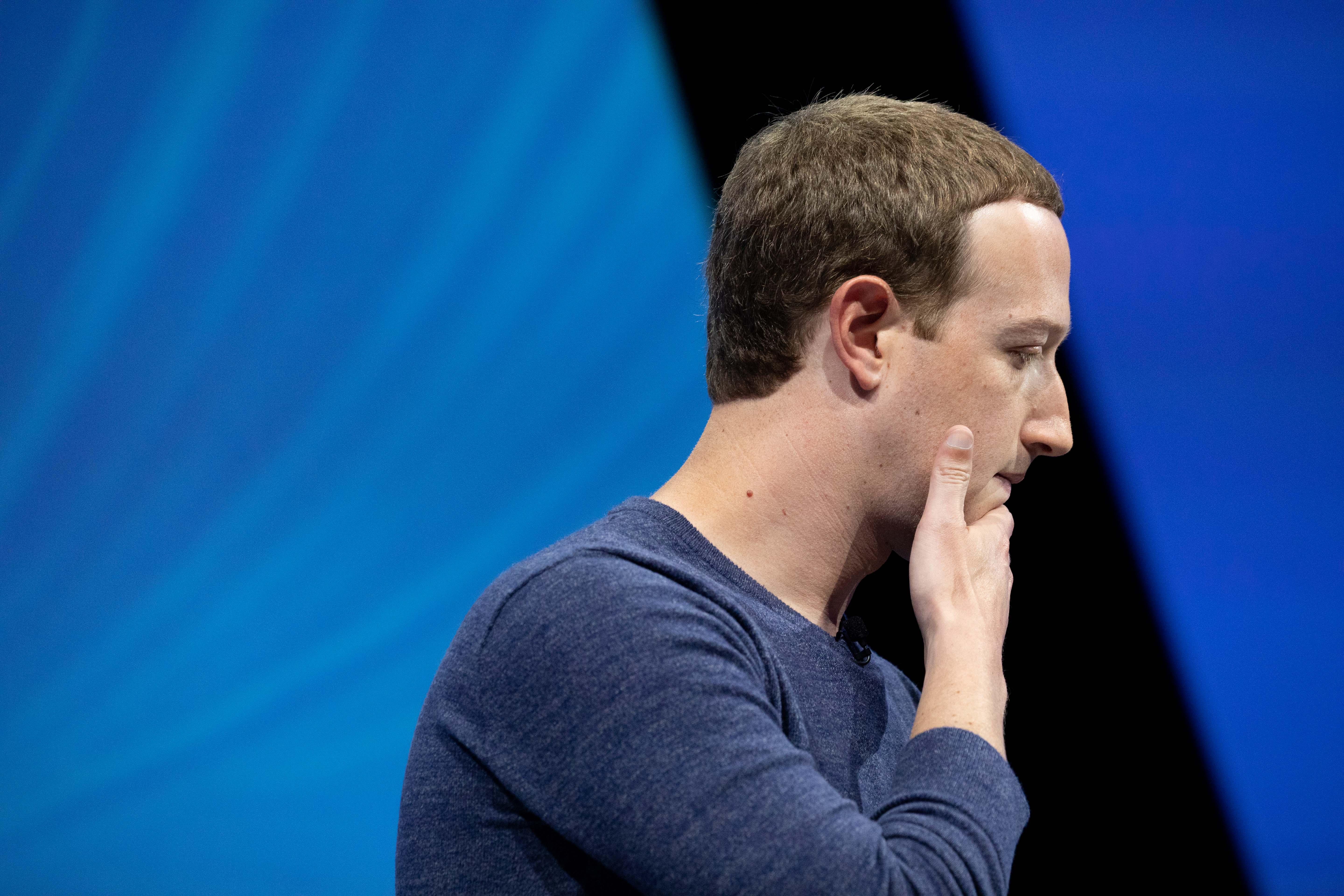 Facebook employee approval for CEO Mark Zuckerberg falls: Glassdoor