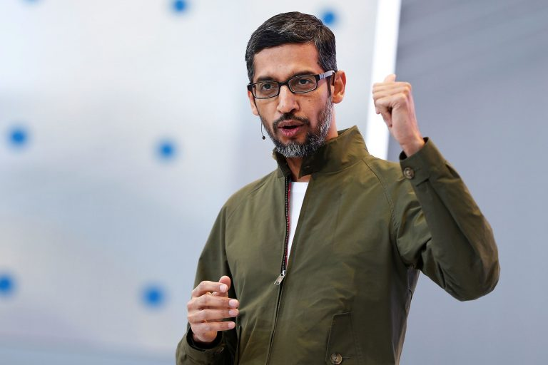 Alphabet is on pace for its best day in four years