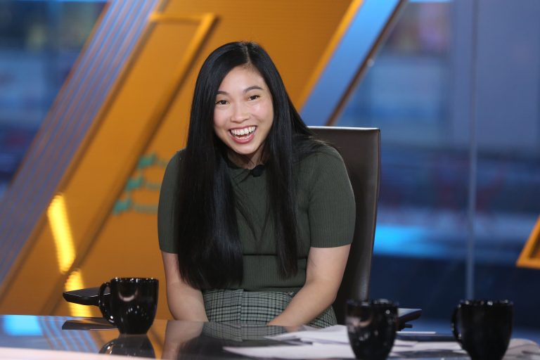 Awkwafina 'never thought' she'd have a career in show business