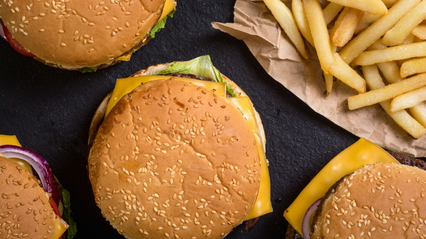 The most iconic fast food items in America: McDonald's to Papa John's