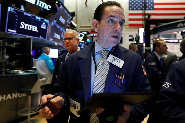 Dow Jones falls, stocks edge lower, market hit with weekly loss