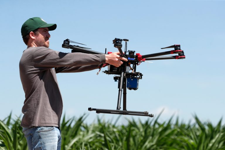 USDA, farmers using drones to help save endangered Colorado River