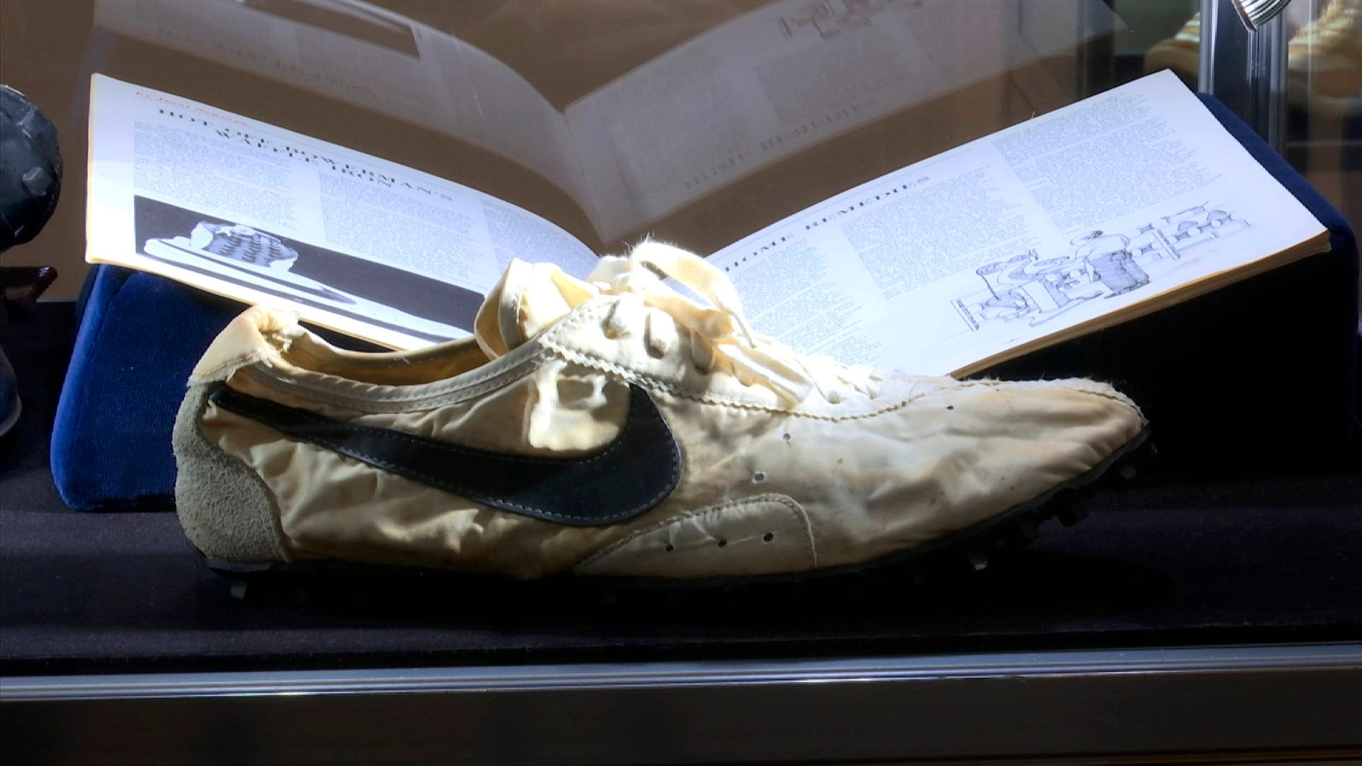 Nike 'moon shoes' from 1972 Olympic trials sell for $50K