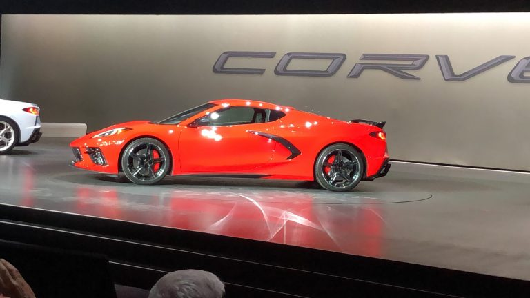 Chevrolet unveils 2020 midengine Corvette pricing