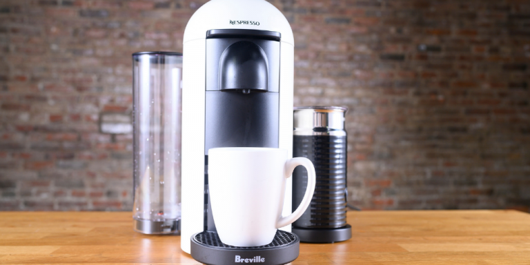 Breville's Nespresso VertuoPlus pod coffee maker is at a super low price right now