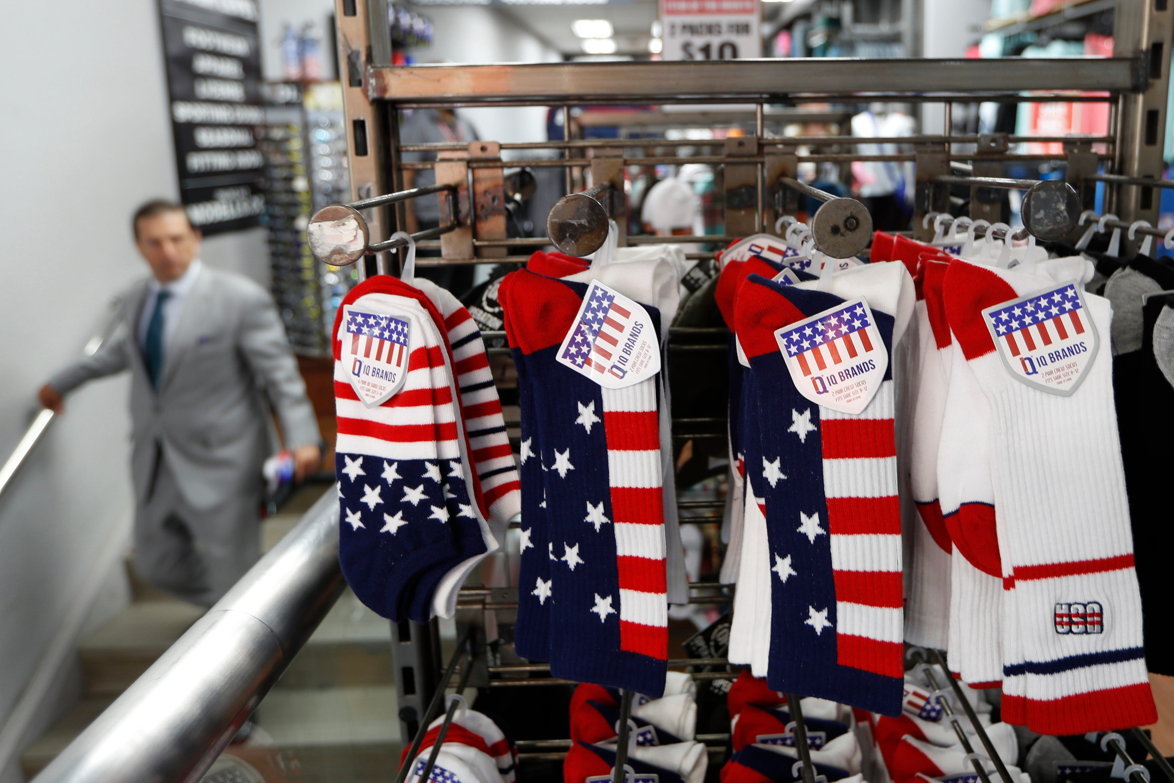New duties target clothing, TVs, other consumer goods