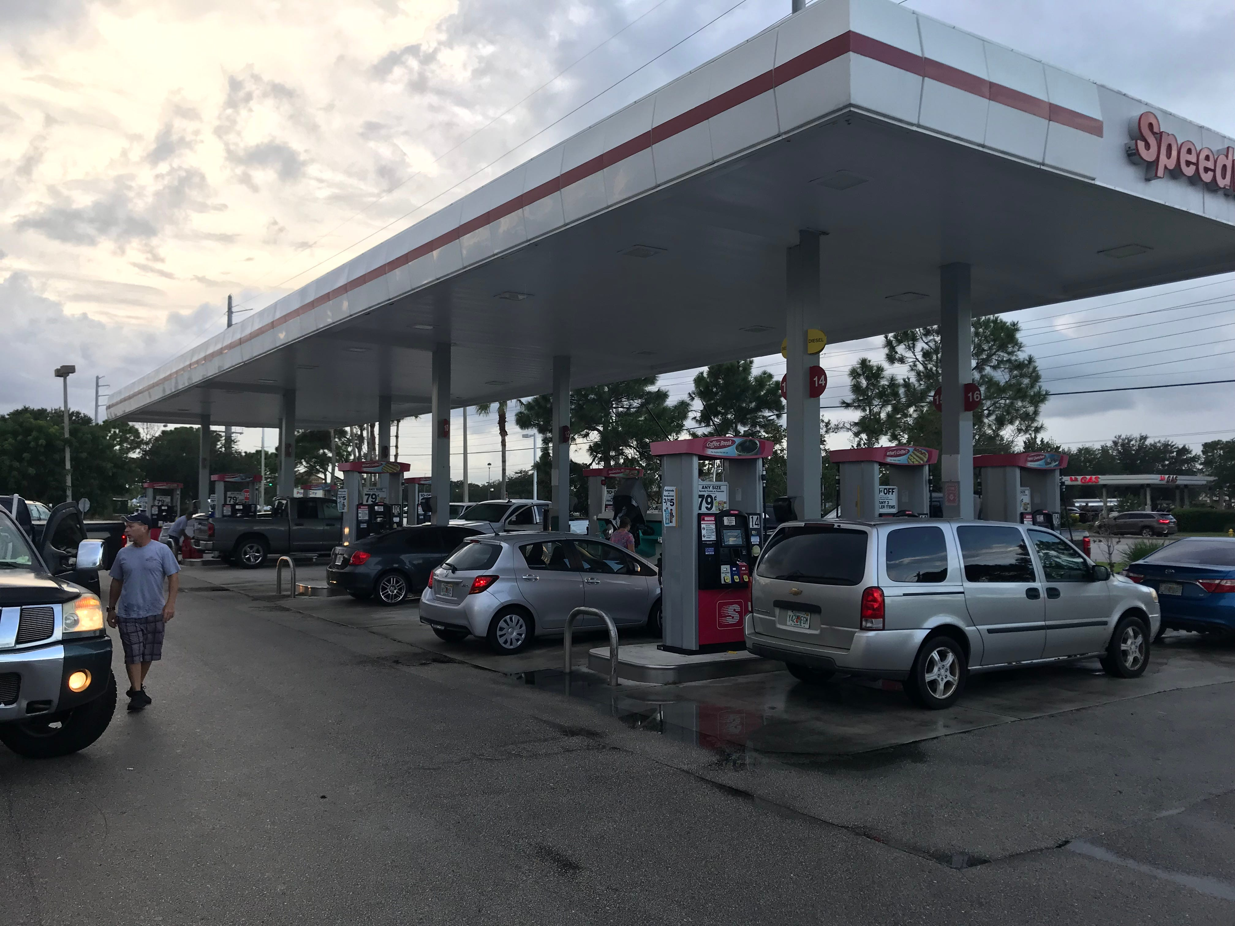 Gas stations in Florida are running out of fuel