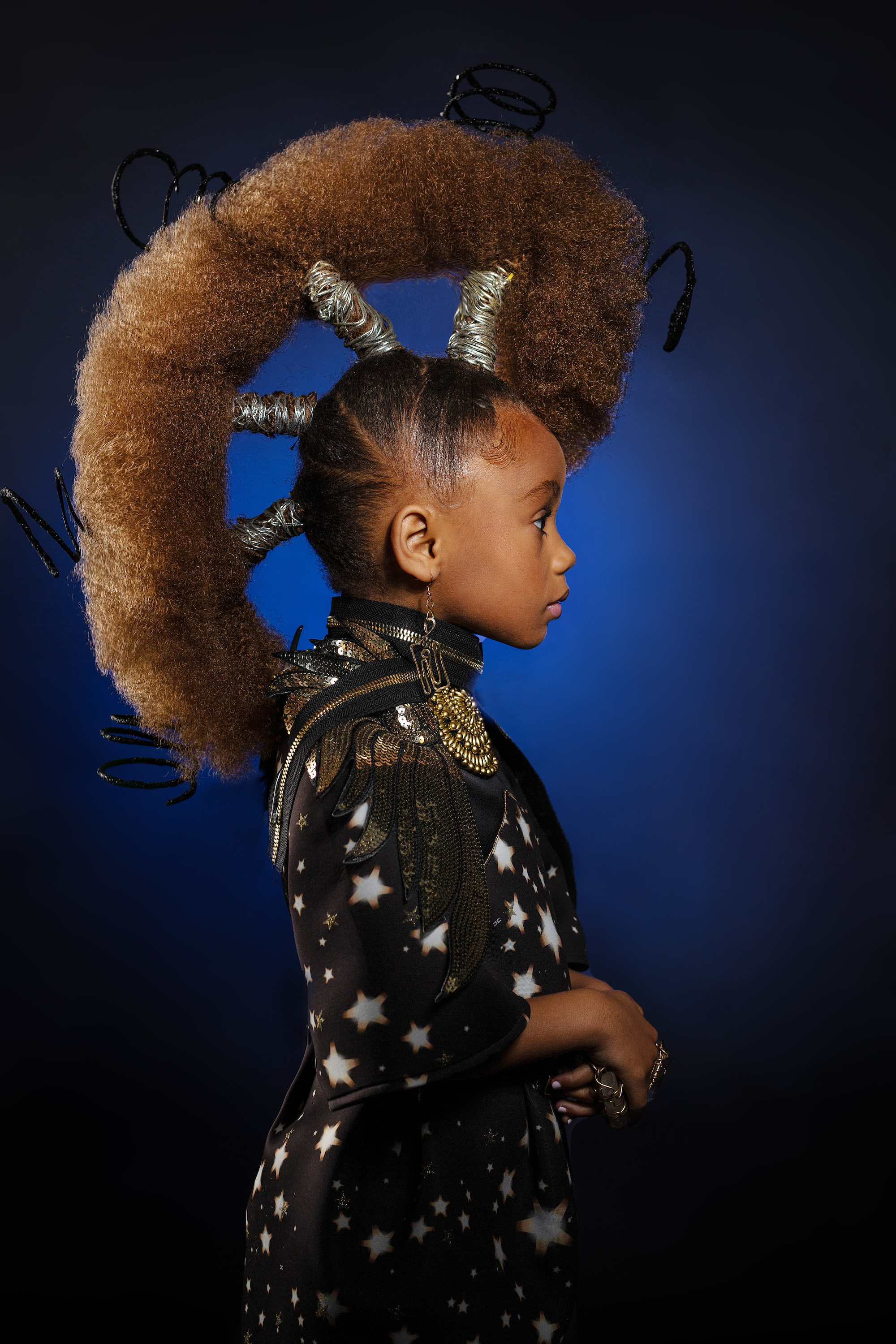 AfroArt Photo Series Challenges Beauty Standards with Young Black Models