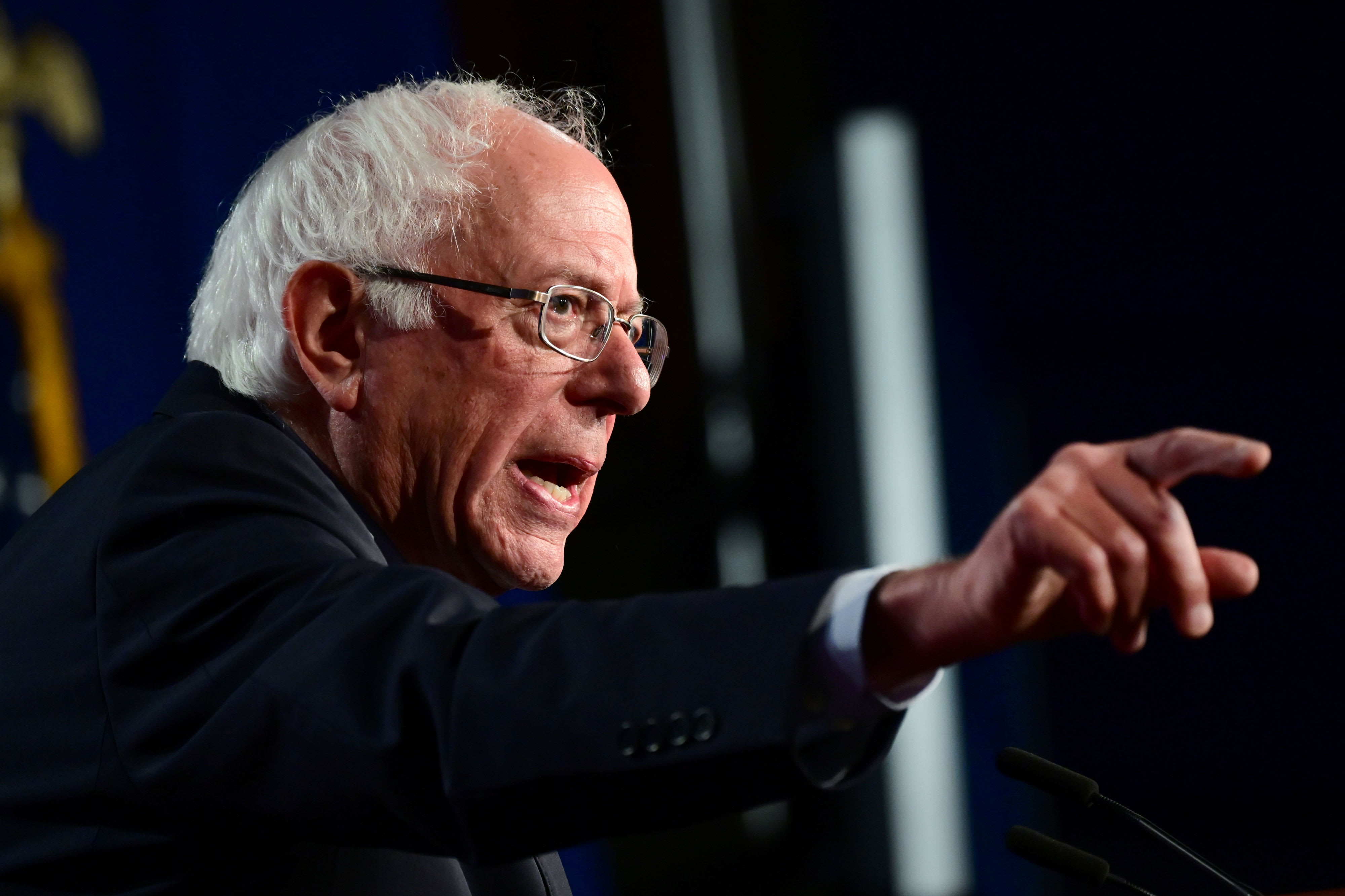 Bernie Sanders plans to save media by restricting Facebook and Google