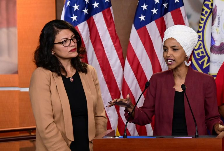 Israel bars Democrats Tlaib and Omar after Trump claims they hate 'all Jewish people'