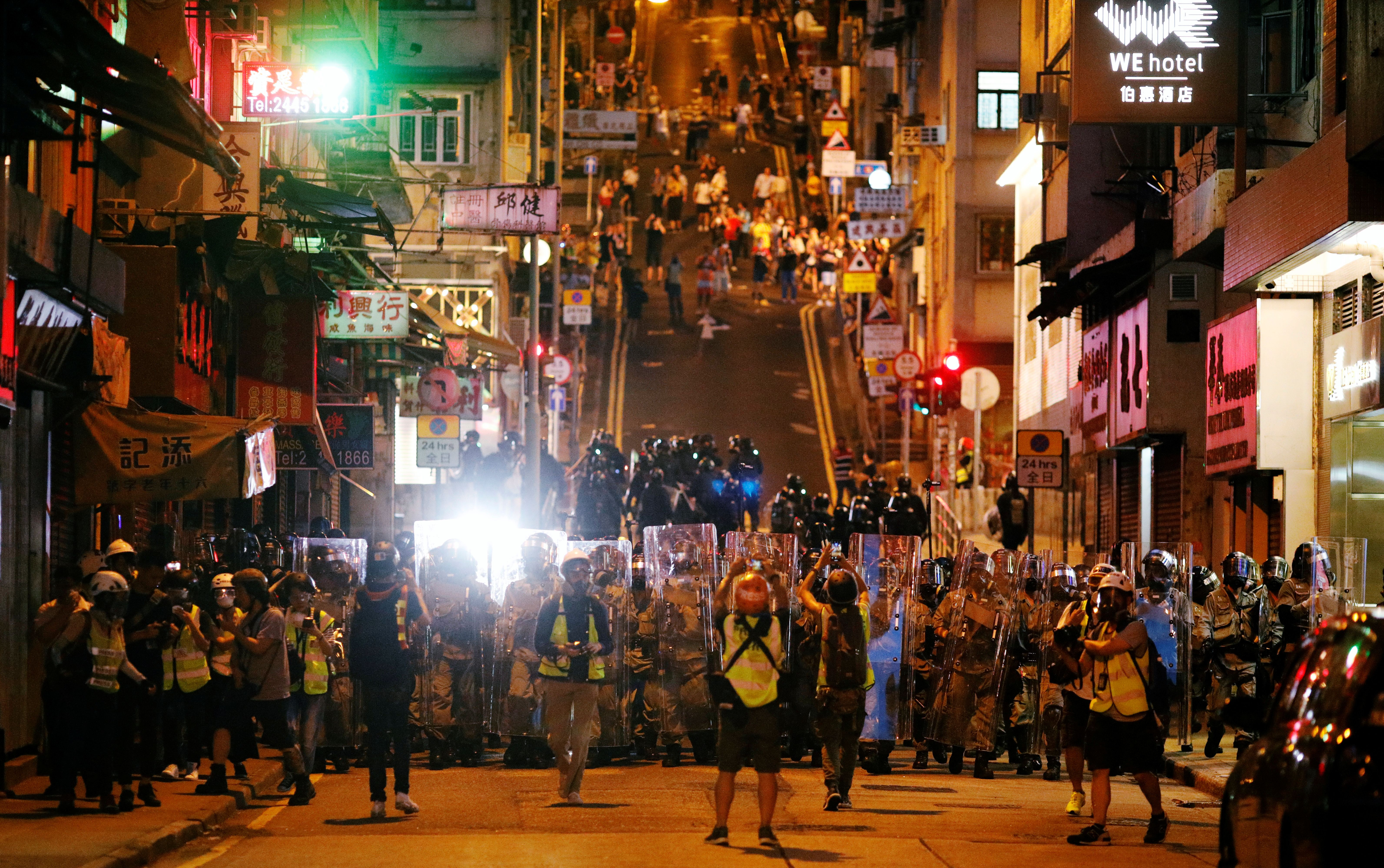 Social media has become a battleground in Hong Kong's protests