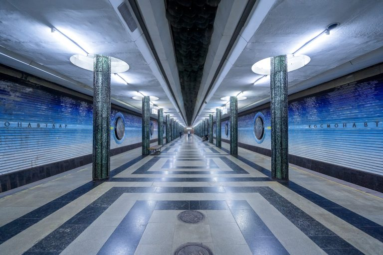 Elaborate Underground Architecture of Soviet Metro Stations Photographed by Christopher Herwig