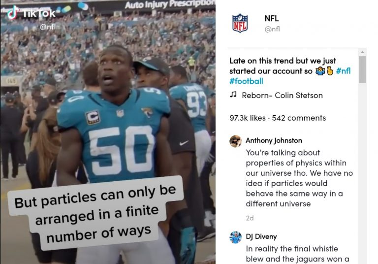 NFL partners with TikTok in new Gen Z marketing push