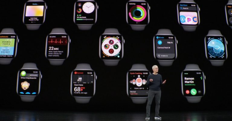 Earlier this year Apple launched several health studies using Apple Watch. A sleep tracker is reportedly in the works, but was not part of Tuesday's big product event.