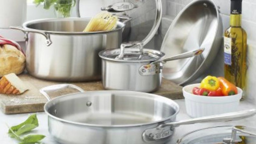 Save on All-Clad, Demeyere, and more