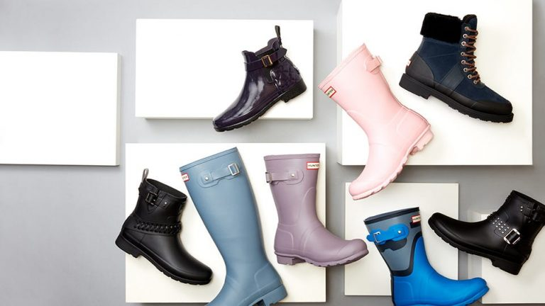 There's a massive sale happening on Hunter boots right now