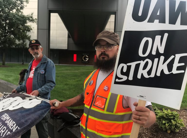 United Auto Workers union calls national strike against GM