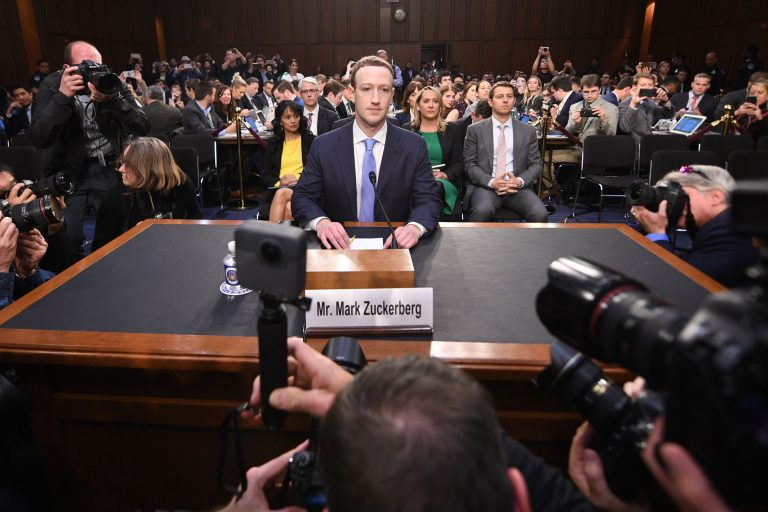 Zuckerberg meets senators to discuss tech regulations