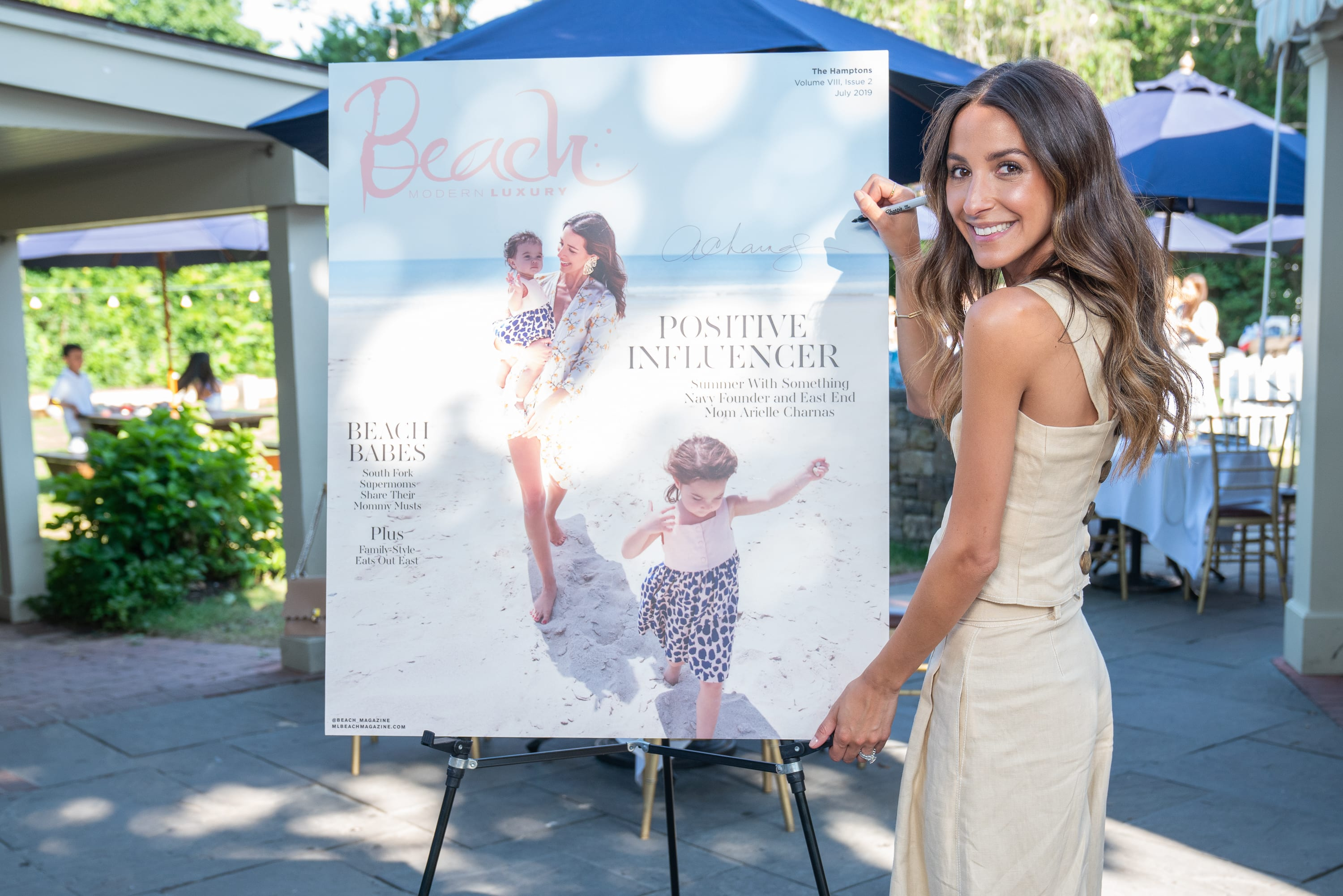 Influencer Arielle Charnas launches Something Navy after Nordstrom