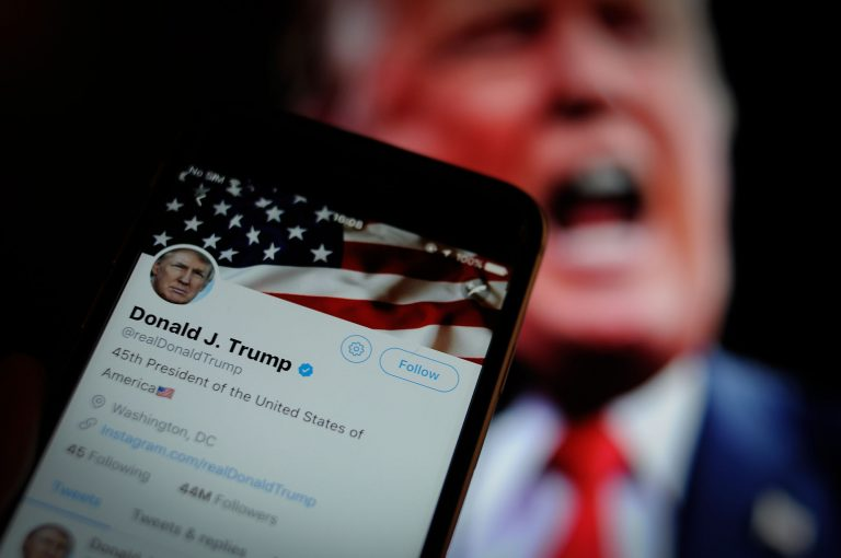 Twitter removes Trump image in tweet for violating copyright policy