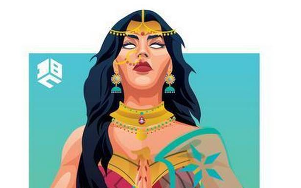 Deepak Bhatt from Delhi on his India-inspired Wonder Woman art