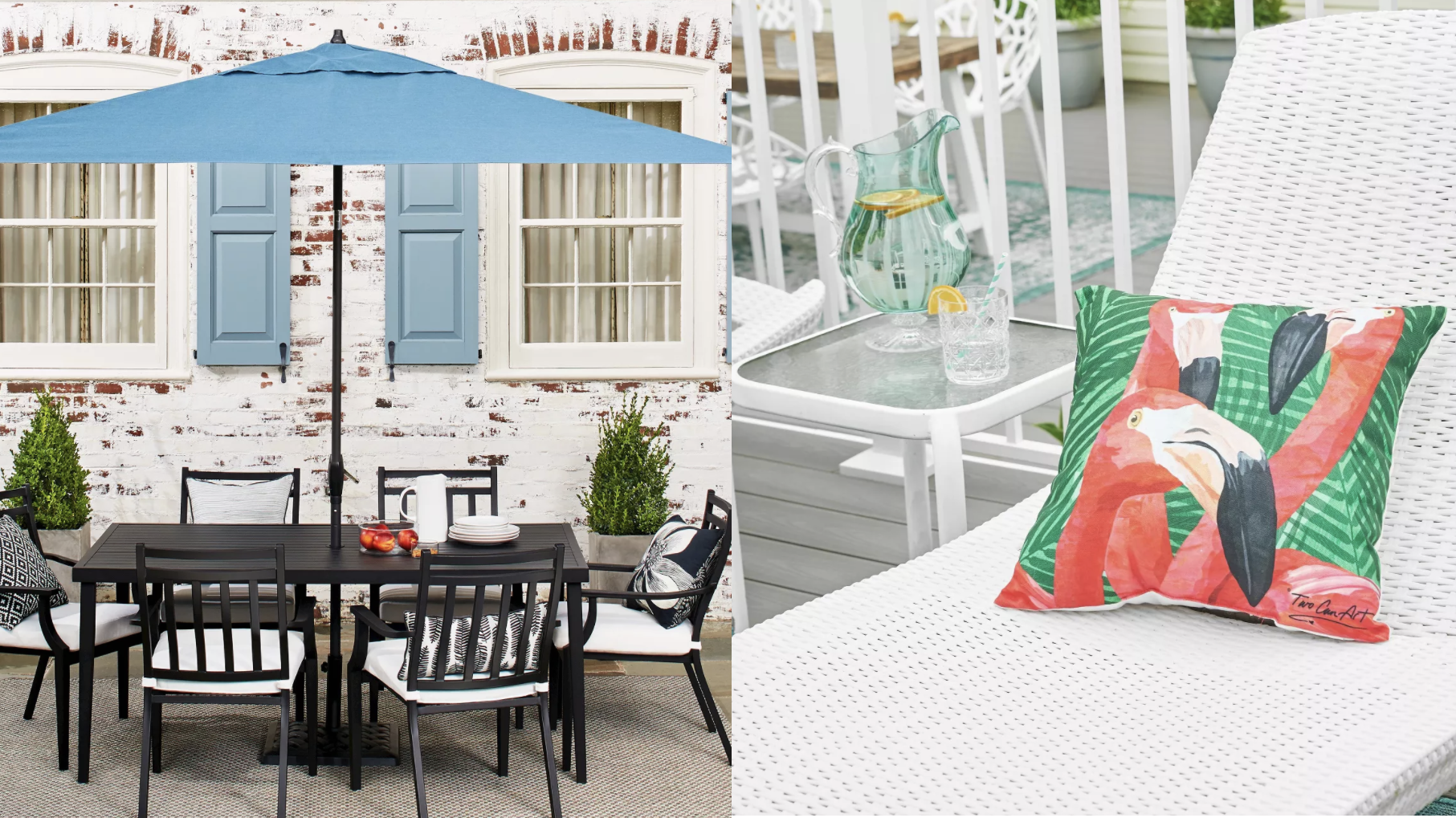 Shop outdoor dining tables, rugs and more at Target