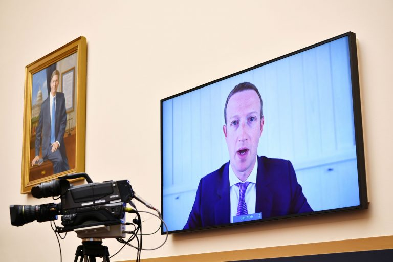 Facebook, Google and Twitter CEOs to testify before Congress Oct. 28