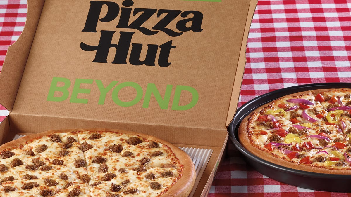 Pizza Hut adds plant-based Beyond Italian Sausage Pizza, Great Beyond Pizza to the menu
