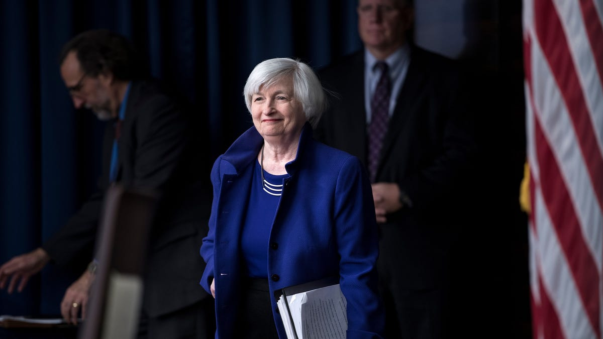 As Treasury chief, Yellen may be a calming influence in a Washington split over stimulus and everything else