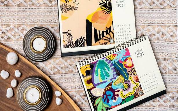 Coimbatore-based artist Simran Wahan has launched a 2021 calendar with her paintings