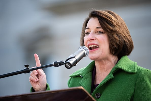 Google breakup should 'be on the table' says Sen. Klobuchar, who is a possible Biden pick for attorney general