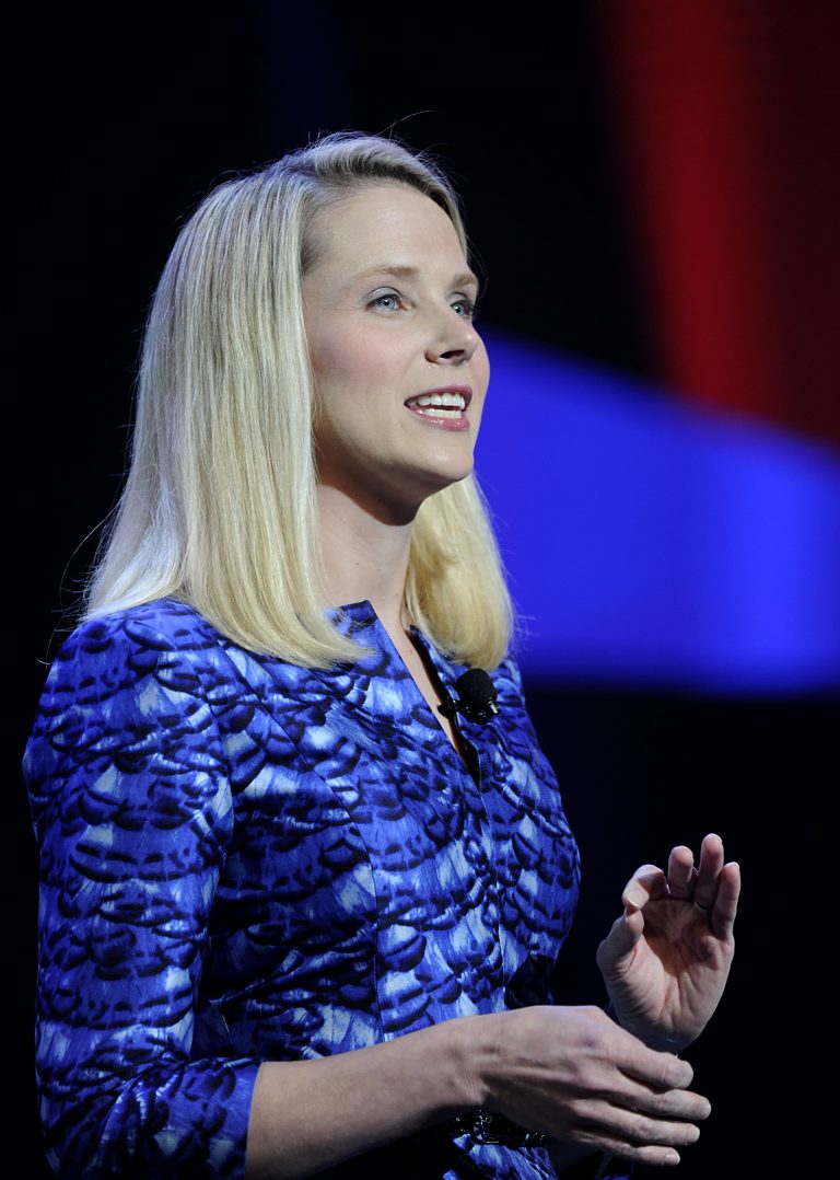 Marissa Mayer is back and she wants to fix your address book