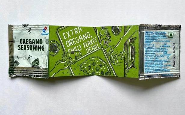This artist turns discarded wrappers into accordion books