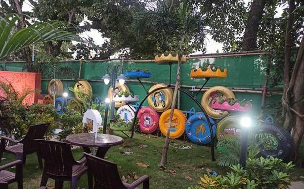 Upcoming tyre park in Kolkata set to turn waste into art