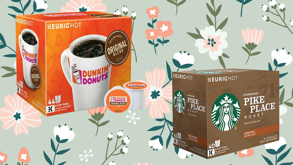 You can get tons of K-Cups from Dunkin,' Starbucks and more at a mega-discount