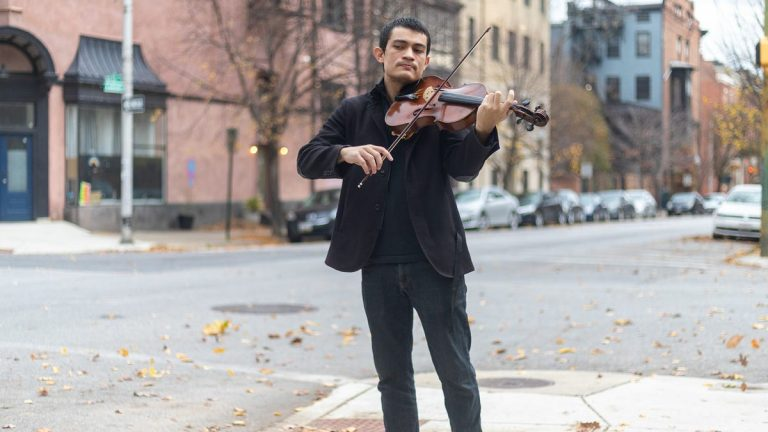 Changing careers during COVID-19: Here's how one millennial went from violist to medical technician