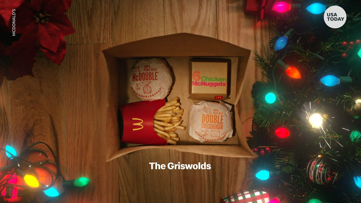 McDonald's giving away free food – from cheeseburgers to coffee – with app purchases now through Christmas Eve