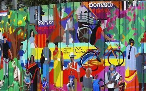 Aravani Art Project brings alive the 'Story of Bangalore' through art