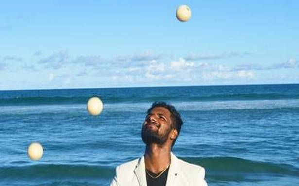 Tricks in the air: Prashanth M on his love for juggling