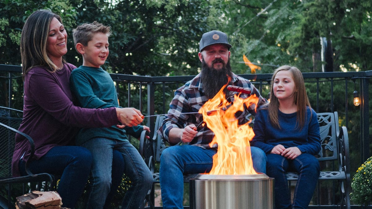 The internet's obsessed with Solo Stove fire pits—and they're on sale