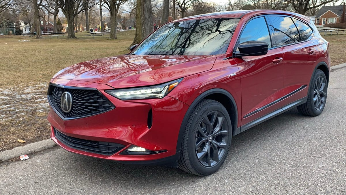 Acura's sleek and sporty 2022 MDX gets luxury brand's SUV back on track