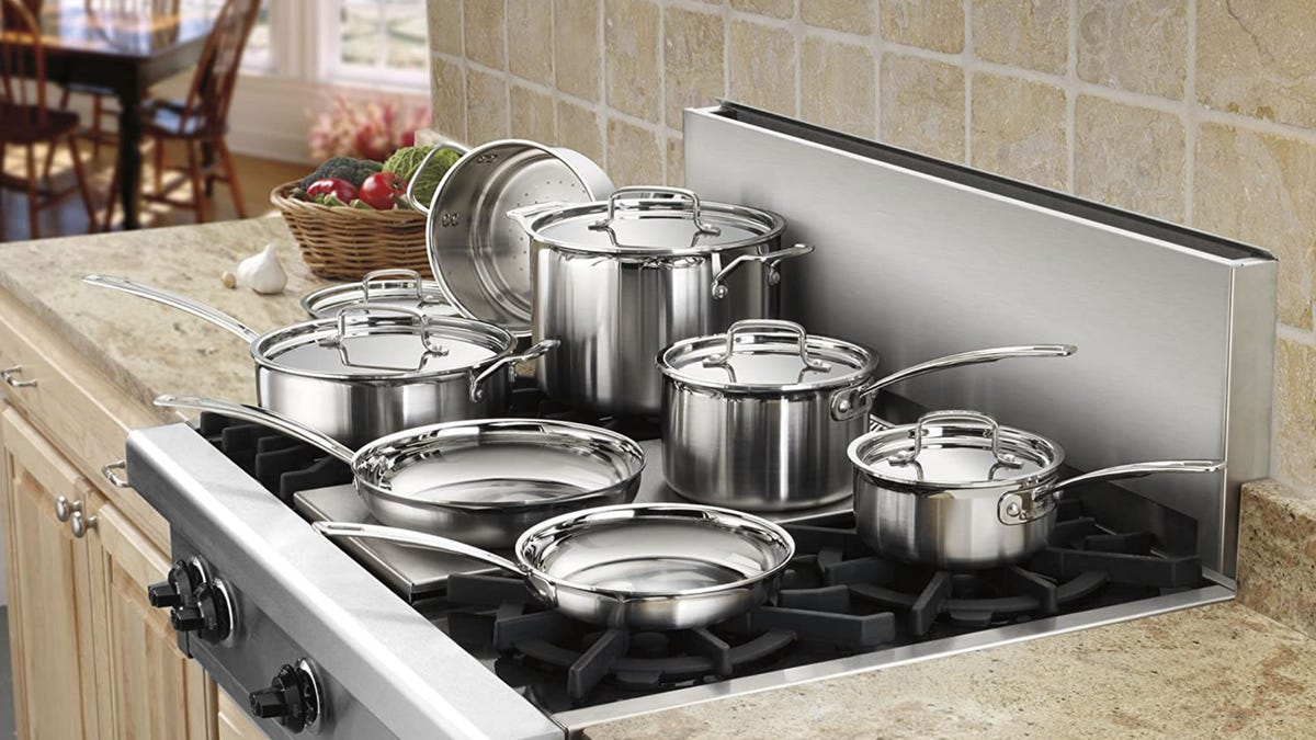 Our favorite stainless-steel cookware set of all time just got a major price cut