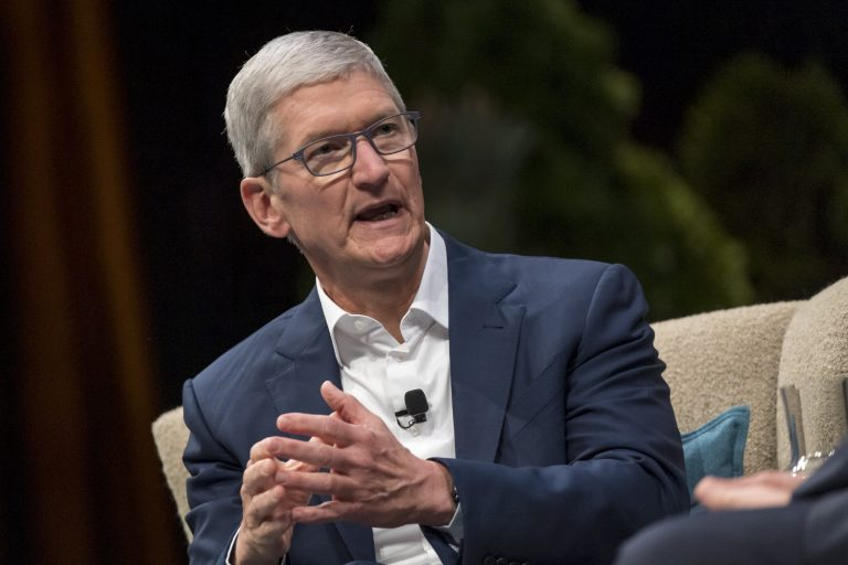 Apple CEO Tim Cook says no one involved in the Capitol insurrection is above the law